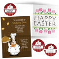 unique, creative and one-of-a-kind, personalized major holiday greeting cards, invitations and other related stationery