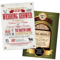 Invitations and stationery for wedding related parties