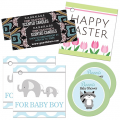 A selection of gift tags and stickers for a variety of occasions and uses