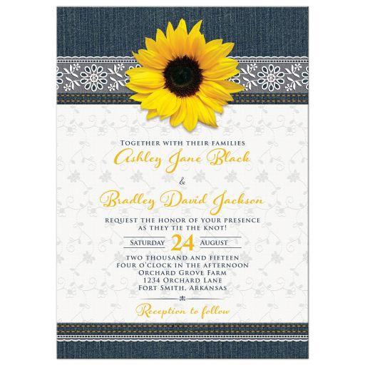 Party Simplicity Denim Wedding Ideas And Inspiration