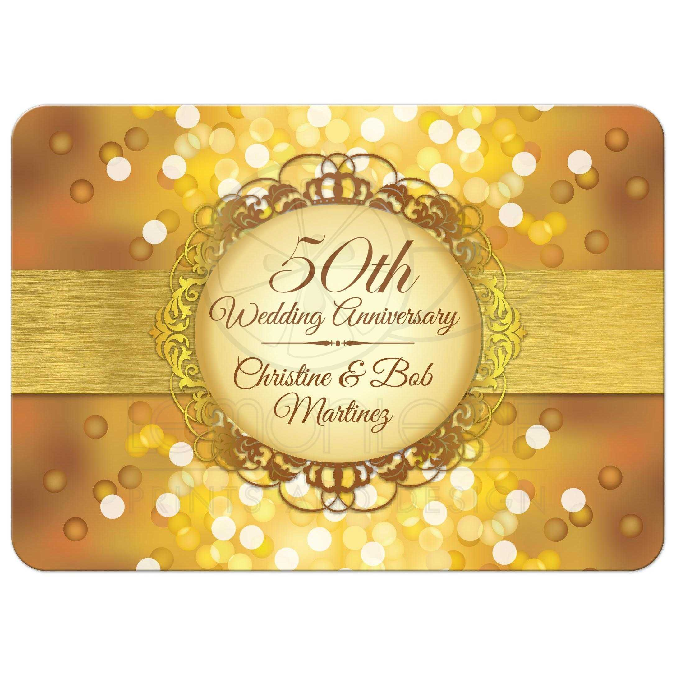 Golden Anniversary Invitations was awesome invitation layout
