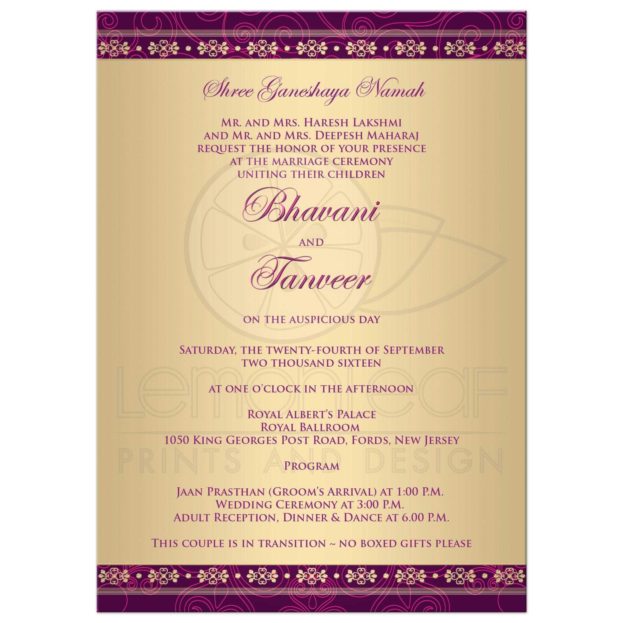 Indian wedding invitations wordings sles 28 images indian wording for marriage wedding invitation ideas indian filmwisefo