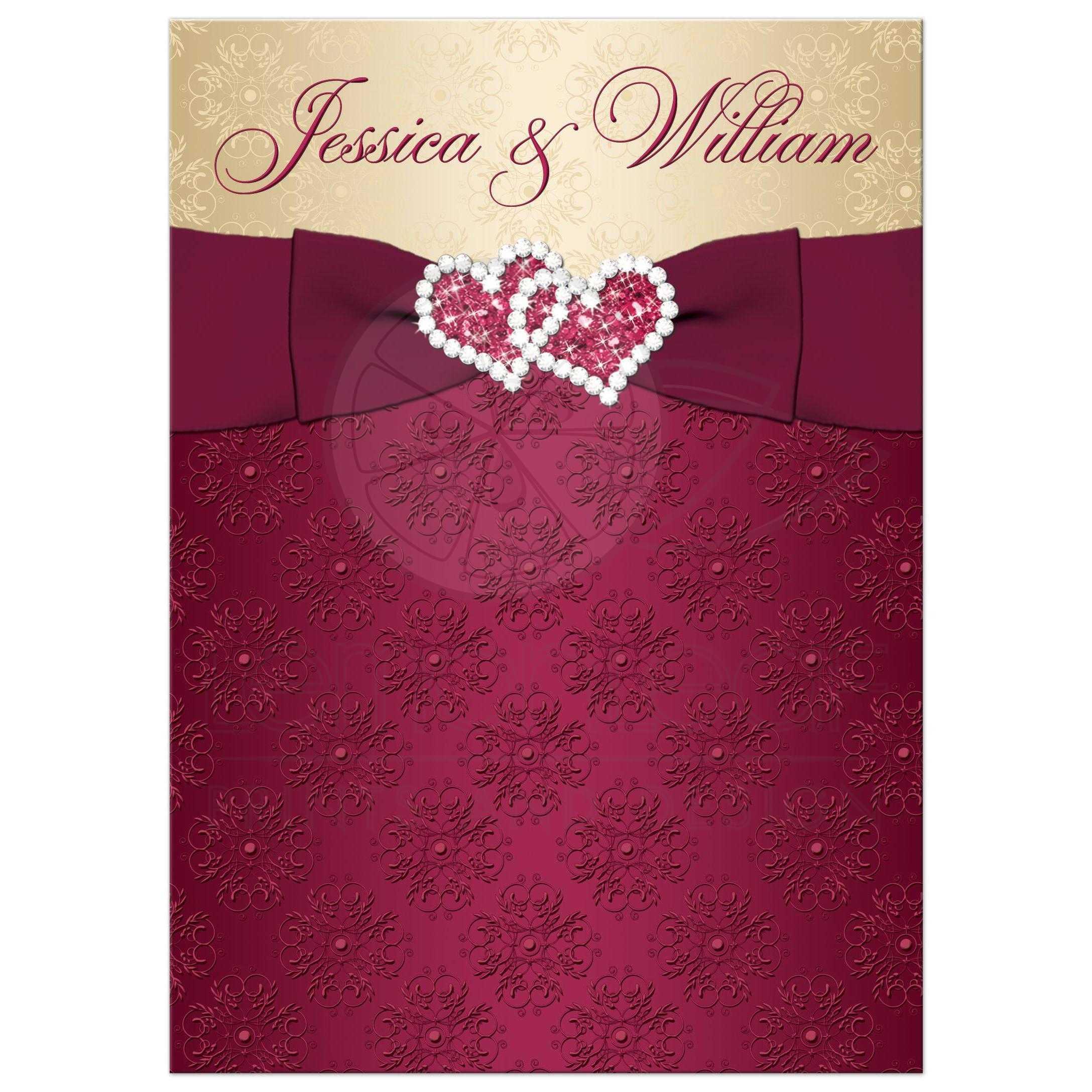 Burlap Wedding Invites as amazing invitation template