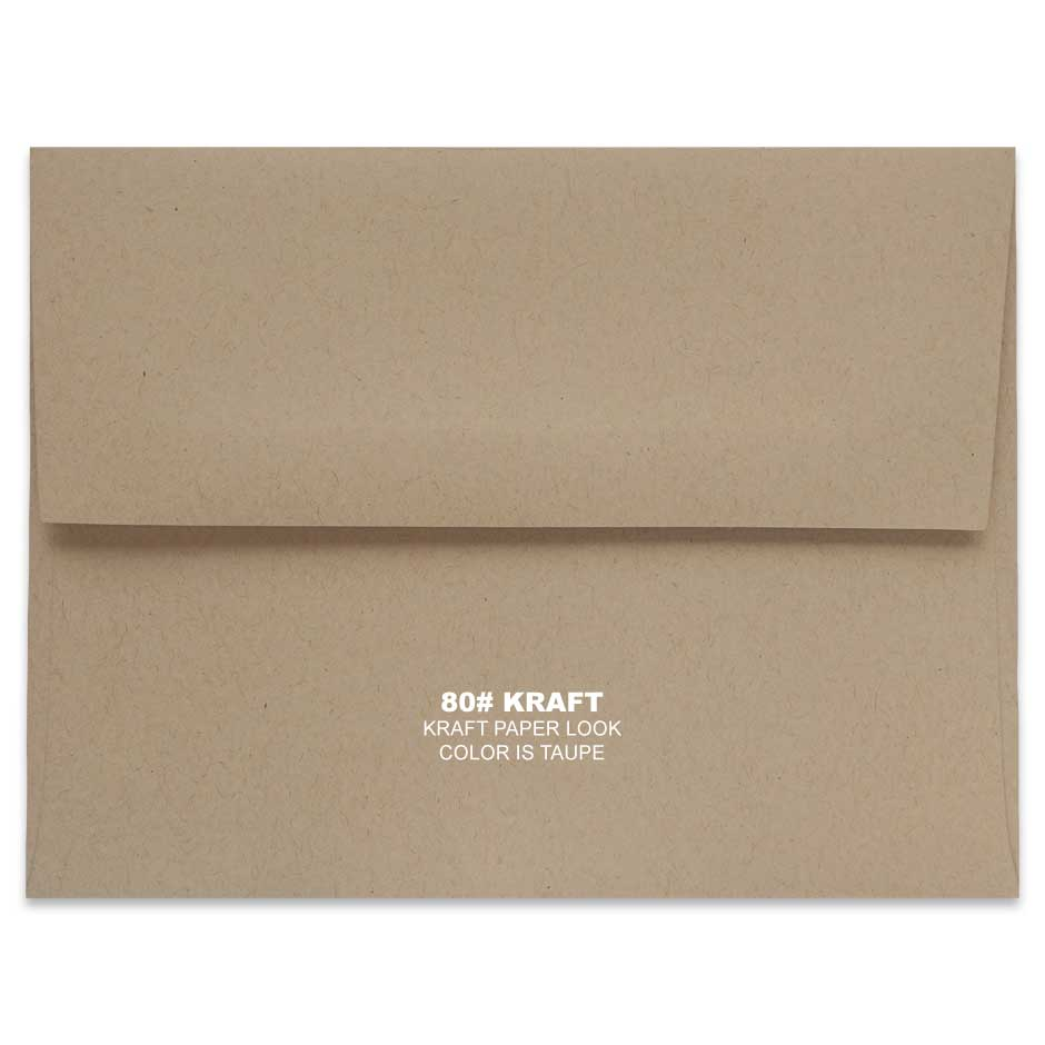 Lemon Leaf Prints Kraft Envelope