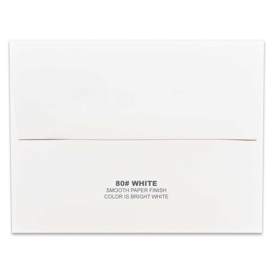 Lemon Leaf Prints White Envelope
