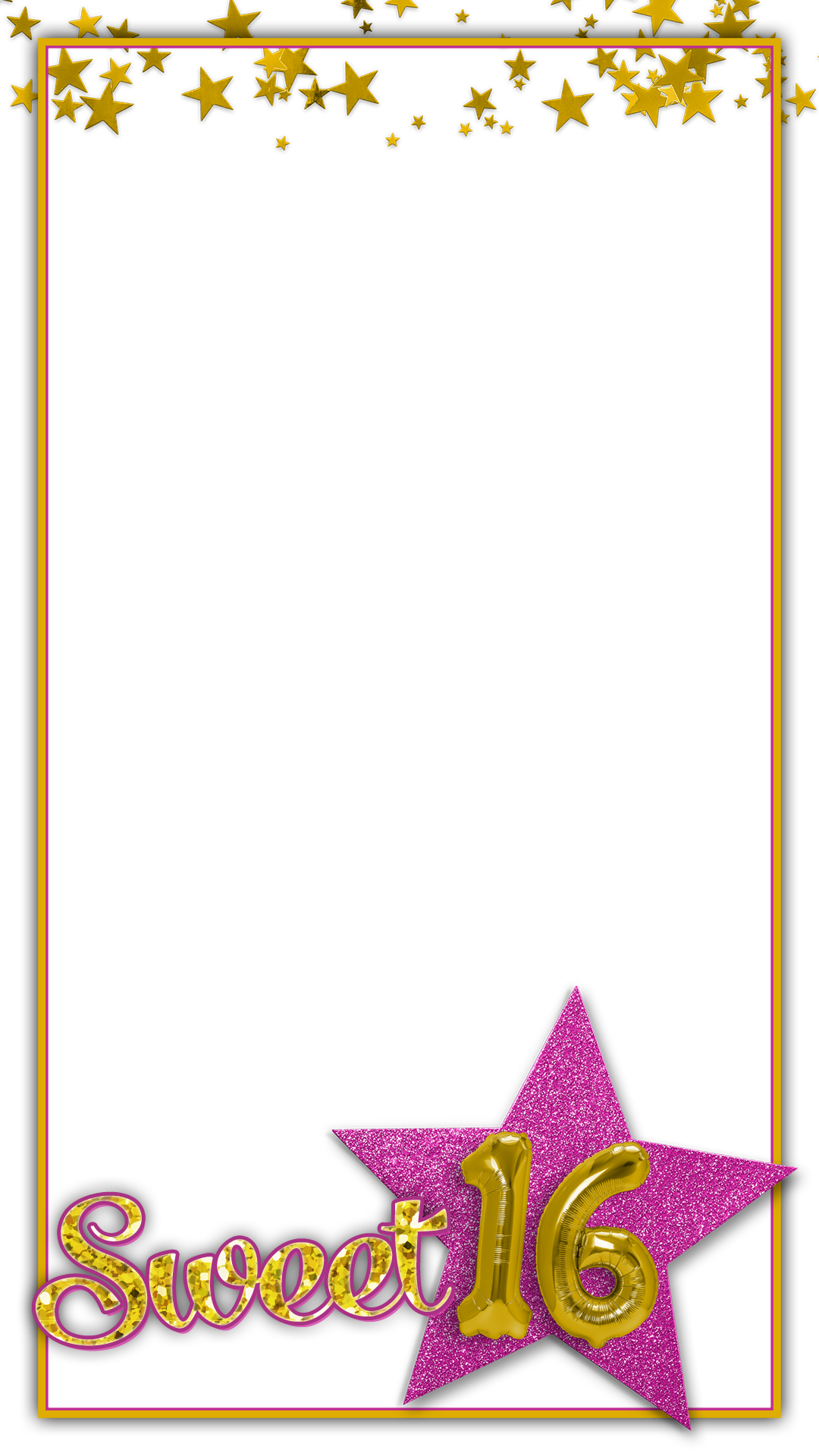 Free sweet 16 snapchat geofilter for Geofilter free