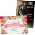 Wedding save the date cards, postcards, and magnets