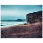 HDR coast cliffs art print