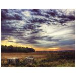 Countryside Sunset art print