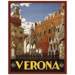 Digitally Restored 8x10 Art Print of Verona Italy