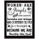 8x10 Wall Art Typography - Women Are Angels