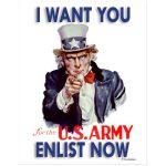 Digitally Restored 11x14 Art Print Uncle Sam Wants You