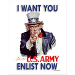 Digitally Restored 8x10 Art Print Uncle Sam Wants You