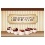 Recipe Card - Chocolate Decadence Bridal Shower