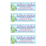 Custom Under the Sea Mailing Address Labels