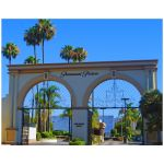 Melrose Avenue Entrance To Paramount Pictures Studio 11x14 Premium Art Print