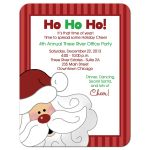 Santa Office Holiday Party Invitations