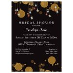 Sparkling Gems And Bokeh Lights Special Event Invitation
