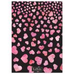 Hearts Aflutter Personalized Valentine's Day Photo Cards back