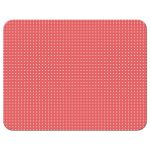 Whimsical cute coral polkadots photo save the date A2 flat cards