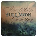 Atmospheric Full Moon Wedding Invitation