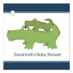 Nantucket Alligator Gift Tag