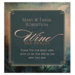 Full Moon Dark Art Stylish bottle labels