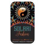 Teal+Orange Solari Fashion Business Cards