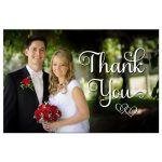 typography wedding photo