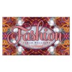 Tropical Fashion Business Card
