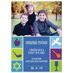 Photo Rosh Hashanah Card - Jewish New Year Icons