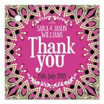 Funky Goddess Pink Thank You Gift Favor Tags