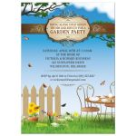 Party Invitation - Flowering Garden Tea Party