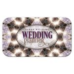 Purple Sparkle Wedding Planner Business Card