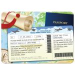 Graduation Party Invitation - Global Travel Documents Grad Announcement
