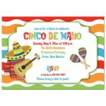 Cinco de Mayo Fiesta Invitaton