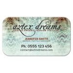 Aztex Dreams Earthy Aqua Business Card