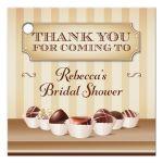 Favor Tag - Chocolate Decadence Bridal Shower