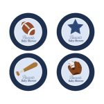 All Stars Sports Favor Stickers