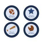 All Stars Sports Favor Stickers