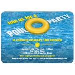 Party Invitation - Yellow Floatie Pool Birthday Party