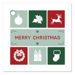 Gift Favor Tag - Christmas Simple Icons