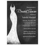 White Chalk Bridal Shower