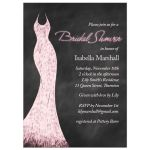 Pink Chalk Bridal Shower