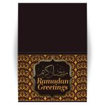 Damask Ramadan Greeting Card