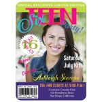 Affordable magazine cover photo sweet 16 birthday invitation