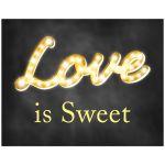 Love is Sweet Chalkboard