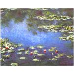 11x14 Wall Art Featuring Monet's Water Lilies