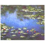 8x10 Wall Art Featuring Monet's Water Lilies