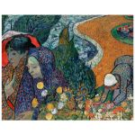 8x10 Wall Art Reproduction of Van Gogh's Memory of the Garden at Etten